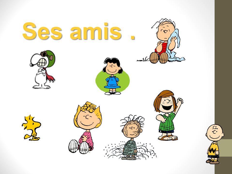 Ses amis …