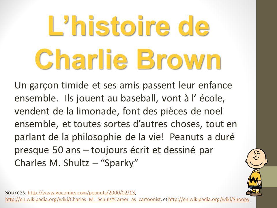 L'histoire de Charlie Brown