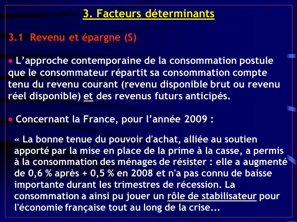 3. Facteurs déterminants