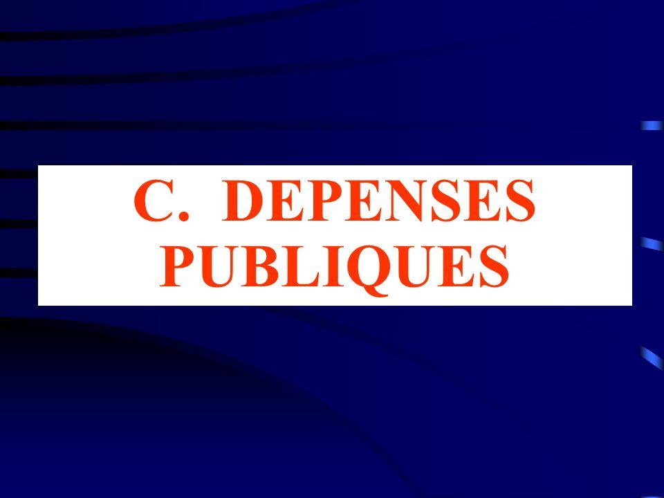 C. DEPENSES PUBLIQUES