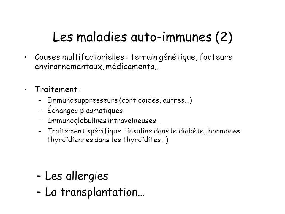 Les maladies auto-immunes (2)