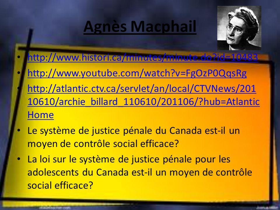 Agnès Macphail http://www.histori.ca/minutes/minute.do id=10483