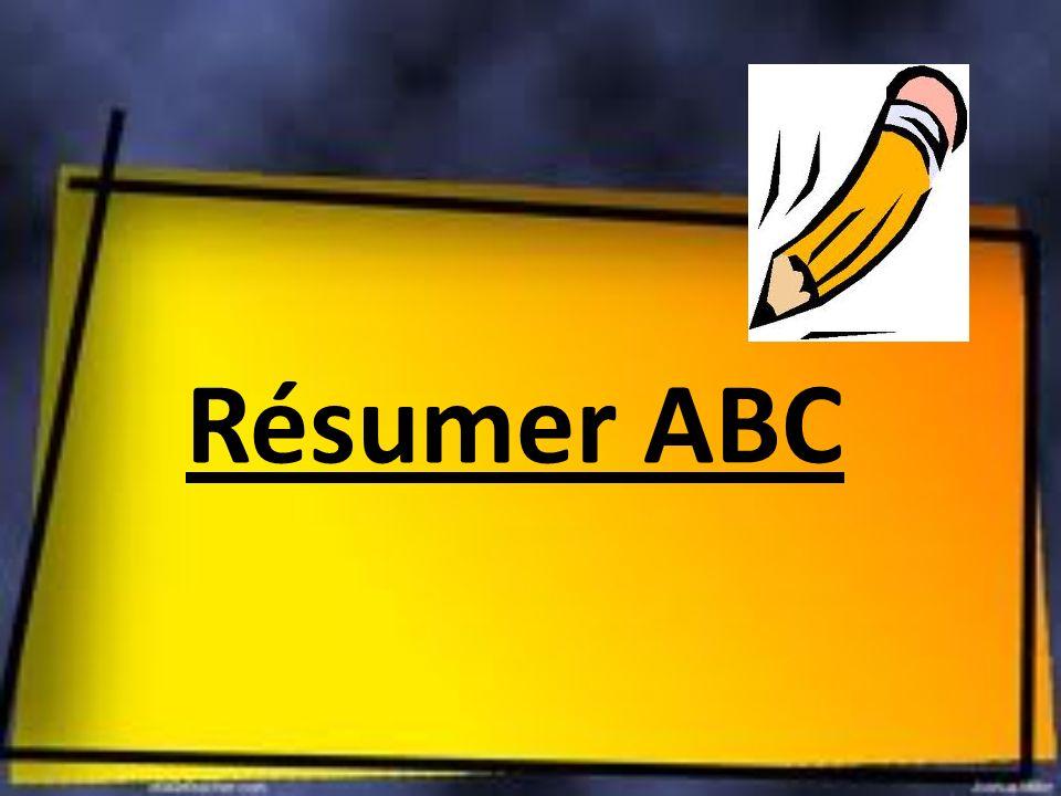 Résumer ABC