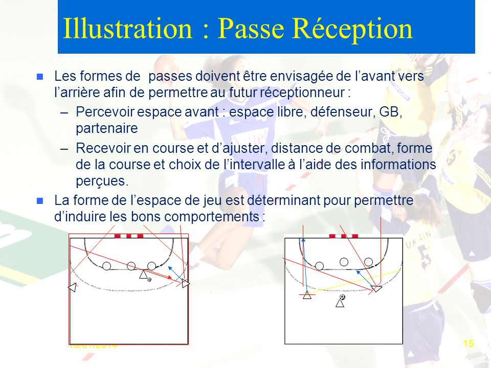 Illustration : Passe Réception