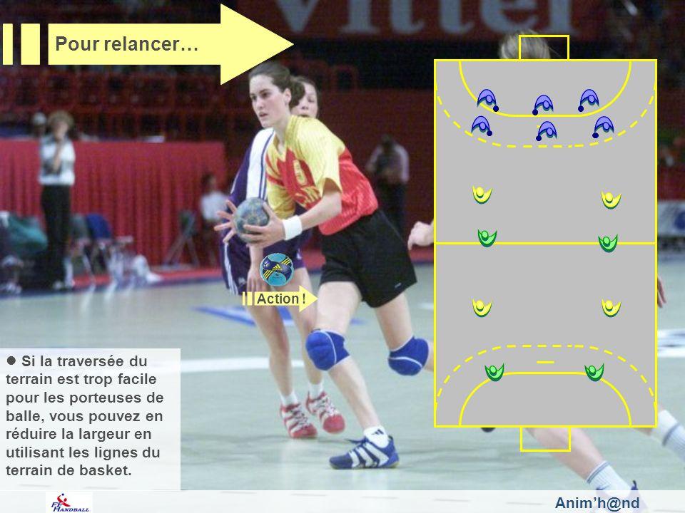 Pour relancer… Fédération Française de Handball. Action !