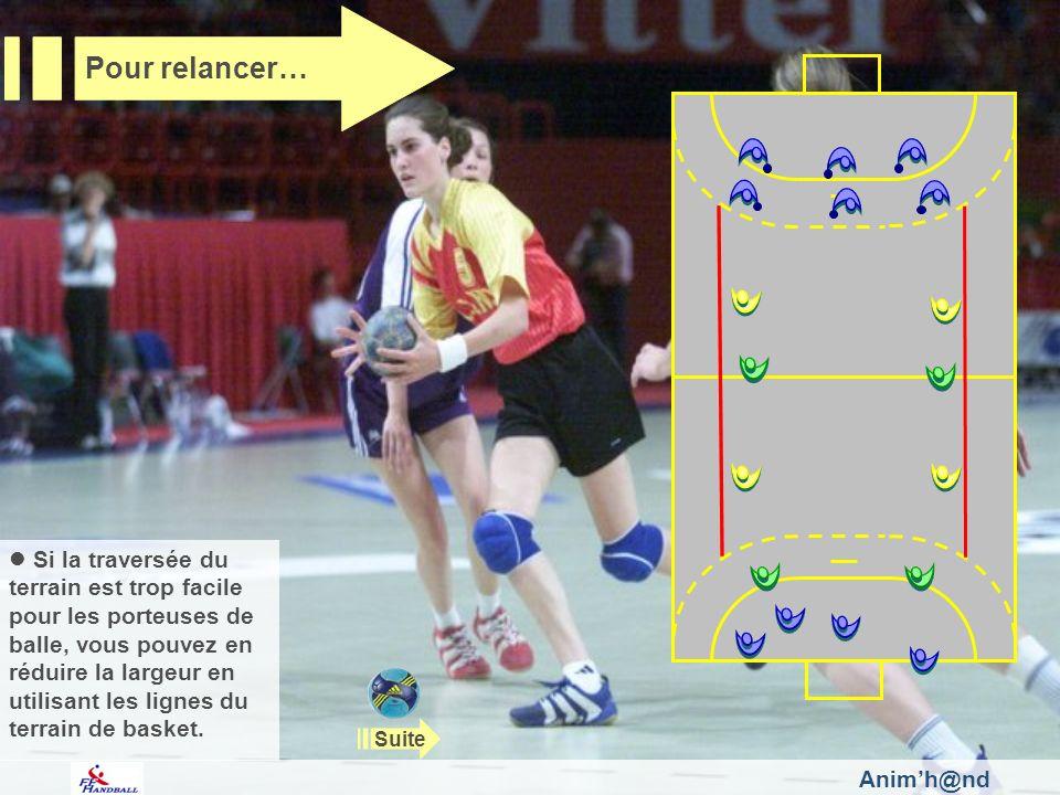 Pour relancer…Fédération Française de Handball.