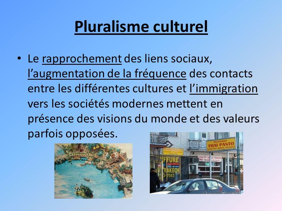 Pluralisme culturel