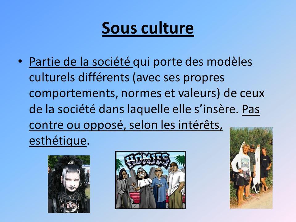 Sous culture