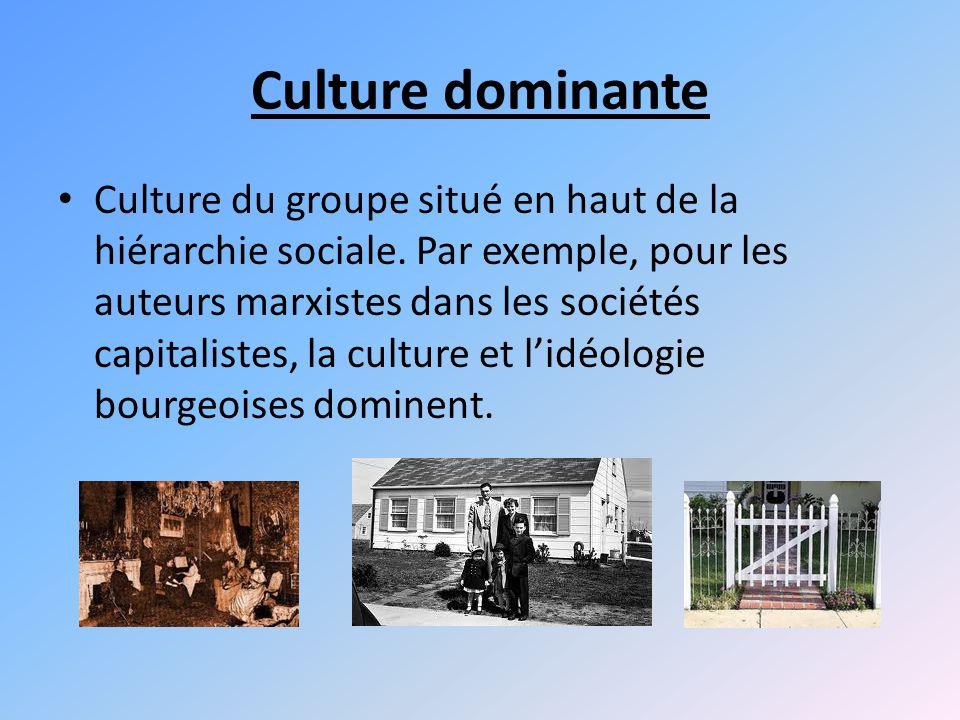 Culture dominante