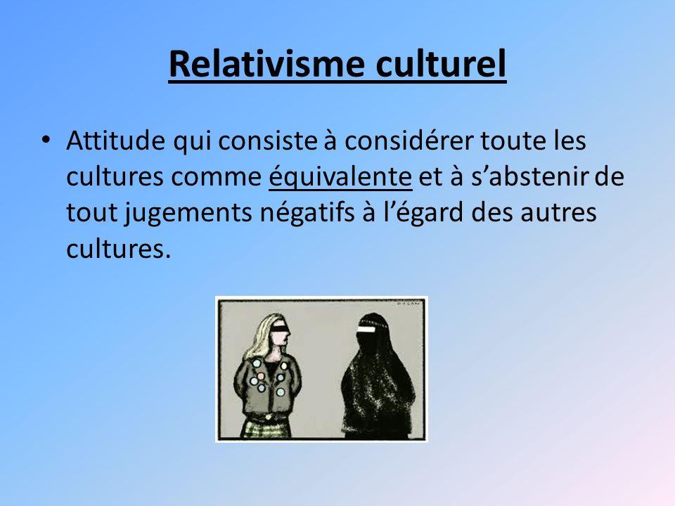 Relativisme culturel