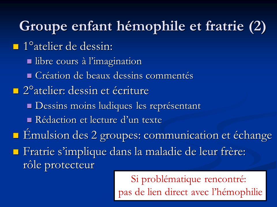 Groupe enfant hémophile et fratrie (2)