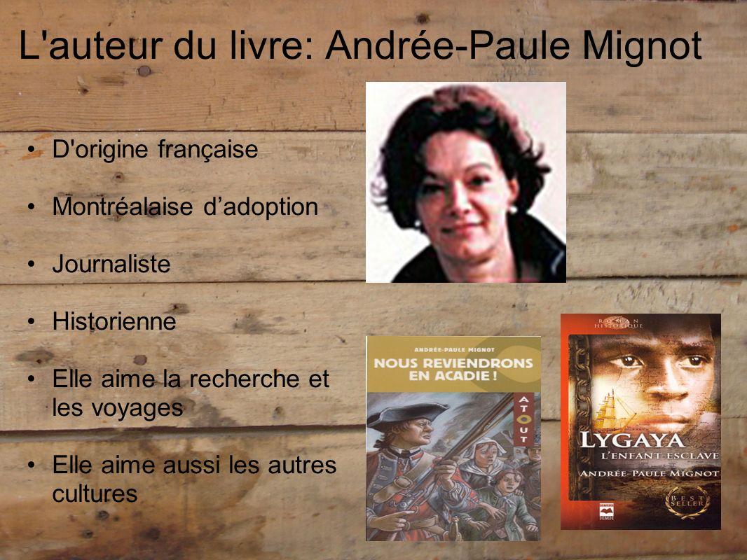 L auteur du livre: Andrée-Paule Mignot