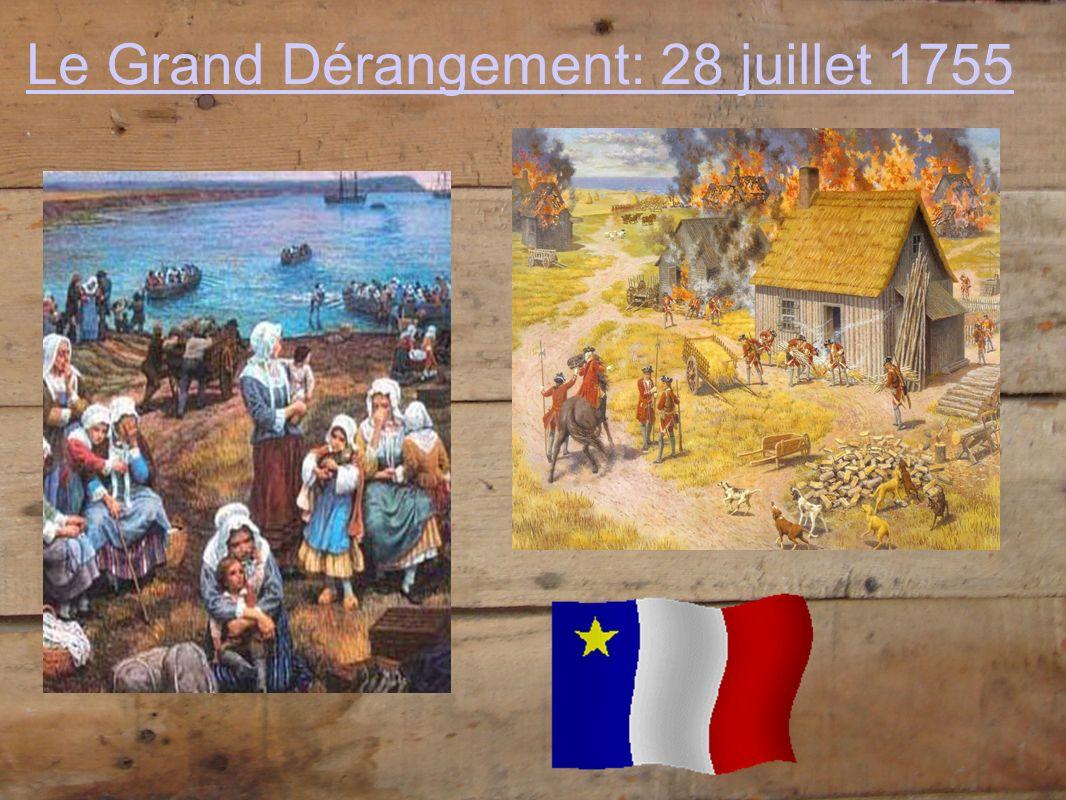 Le Grand Dérangement: 28 juillet 1755