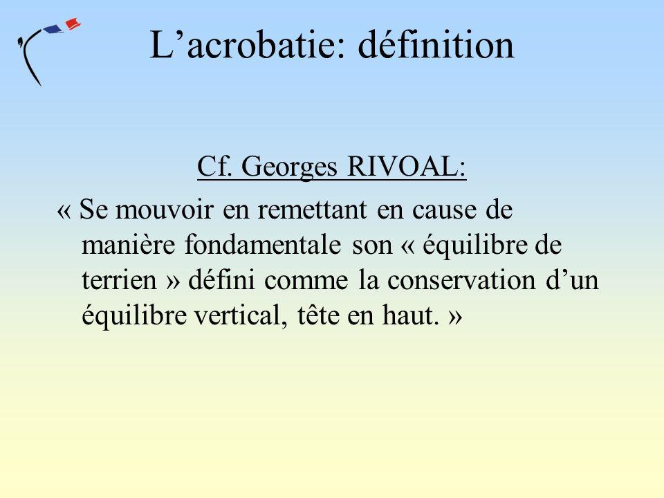 L'acrobatie: définition