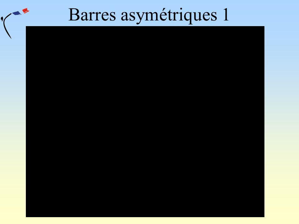 Barres asymétriques 1