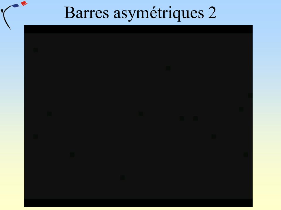 Barres asymétriques 2