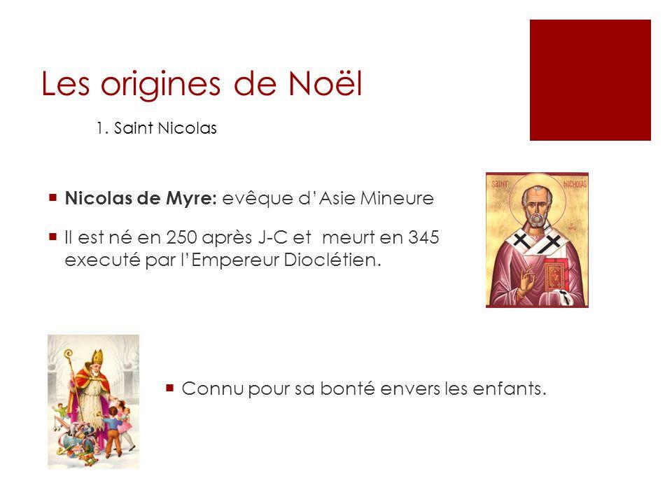 Les origines de Noël Nicolas de Myre: evêque d'Asie Mineure