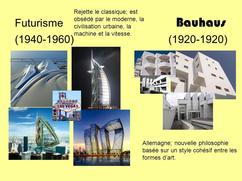 Futurisme Bauhaus (1940-1960) (1920-1920)
