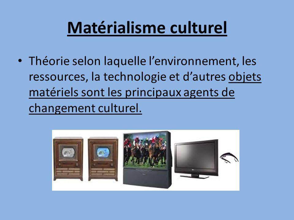 Matérialisme culturel