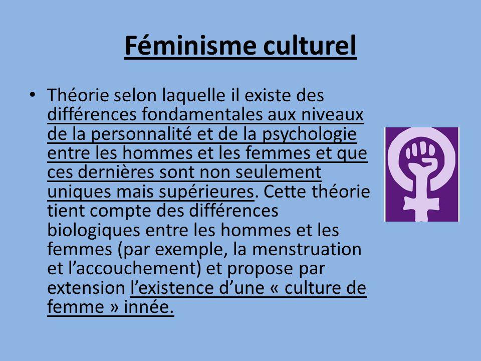 Féminisme culturel
