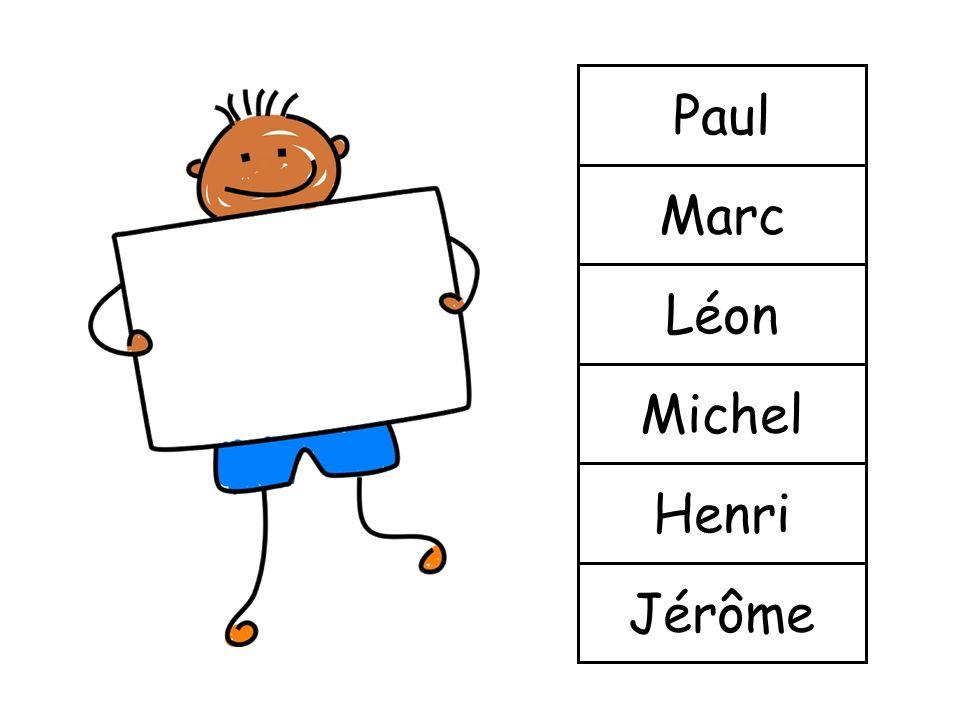 Paul Marc Léon Michel Henri Jérôme