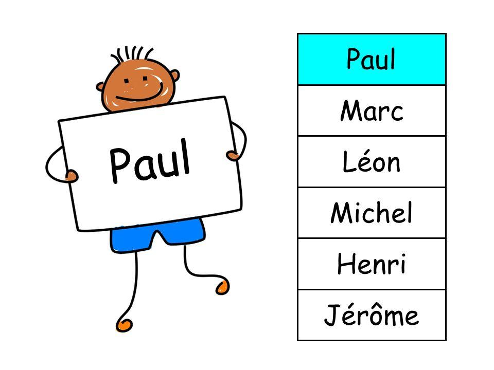 Paul Marc Paul Léon Michel Henri Jérôme