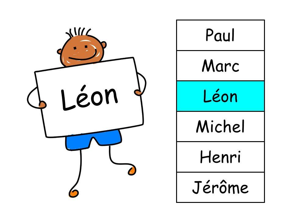 Paul Marc Léon Léon Michel Henri Jérôme