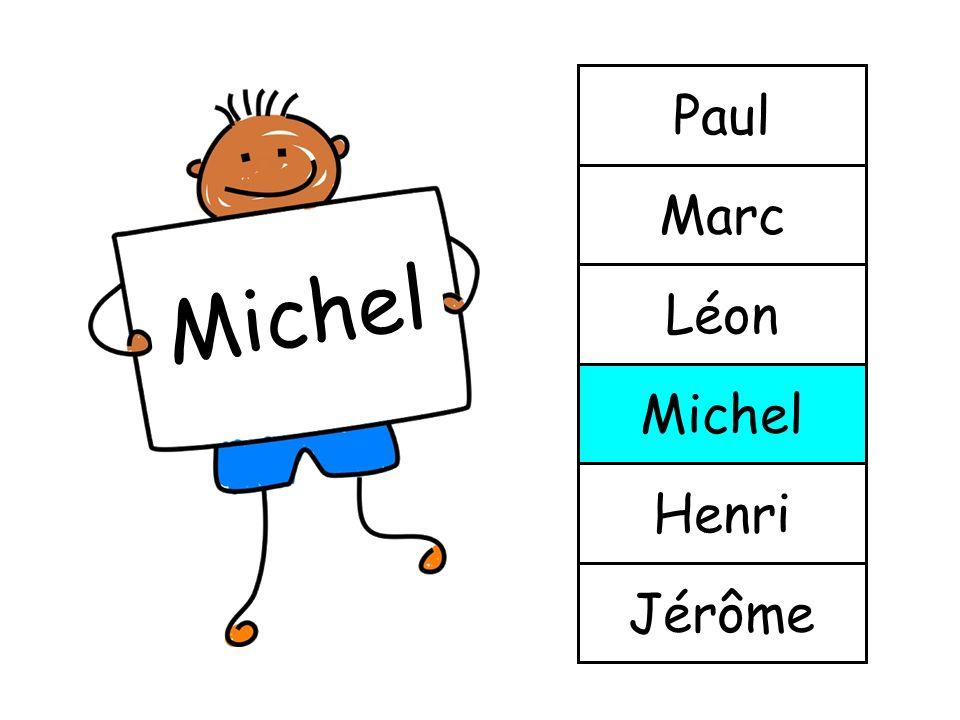 Paul Marc Michel Léon Michel Henri Jérôme