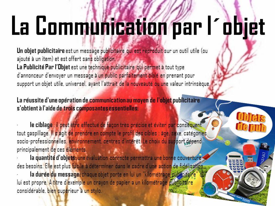 La Communication par l´objet