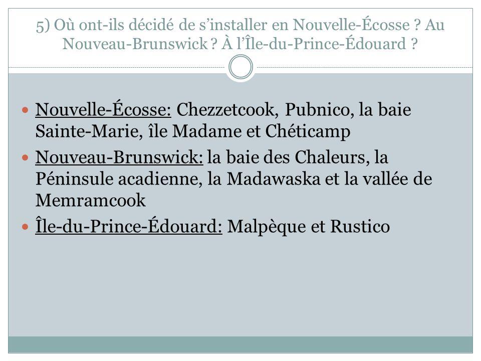 Île-du-Prince-Édouard: Malpèque et Rustico
