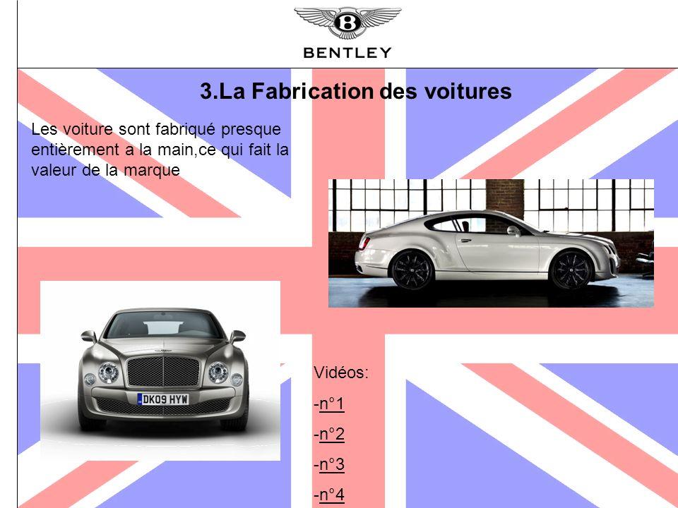 3.La Fabrication des voitures