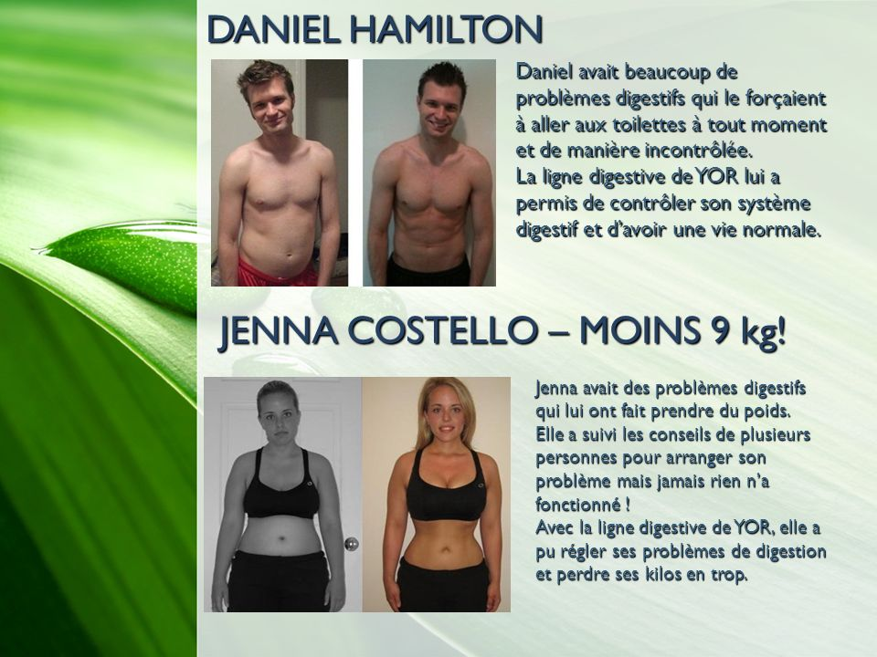 JENNA COSTELLO – MOINS 9 kg!