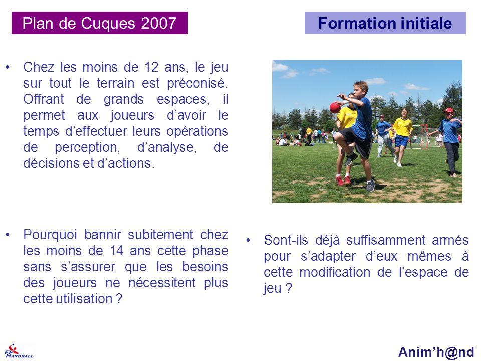 Plan de Cuques 2007 Formation initiale