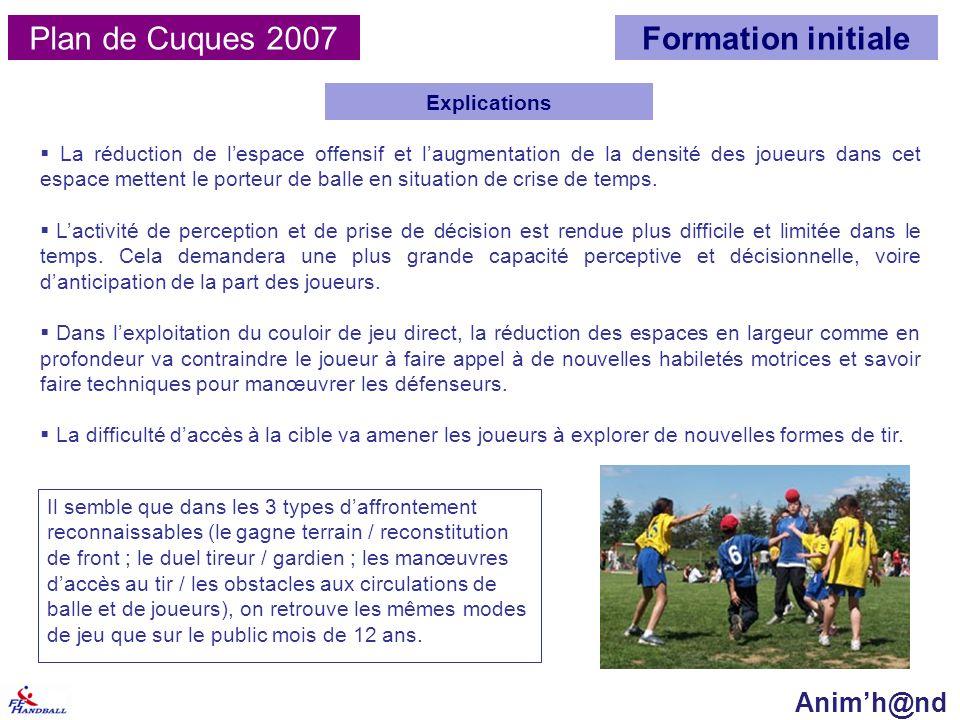 Plan de Cuques 2007 Explications