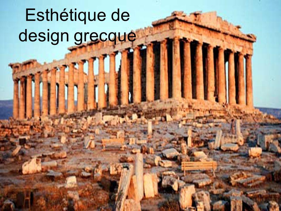 Esthétique de design grecque