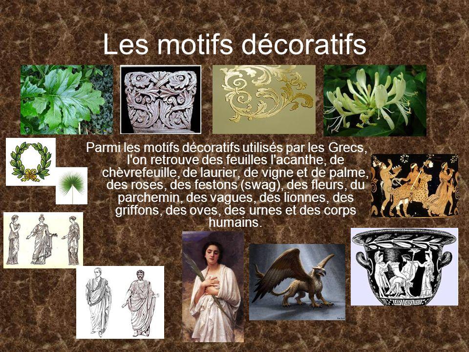 Les motifs décoratifs