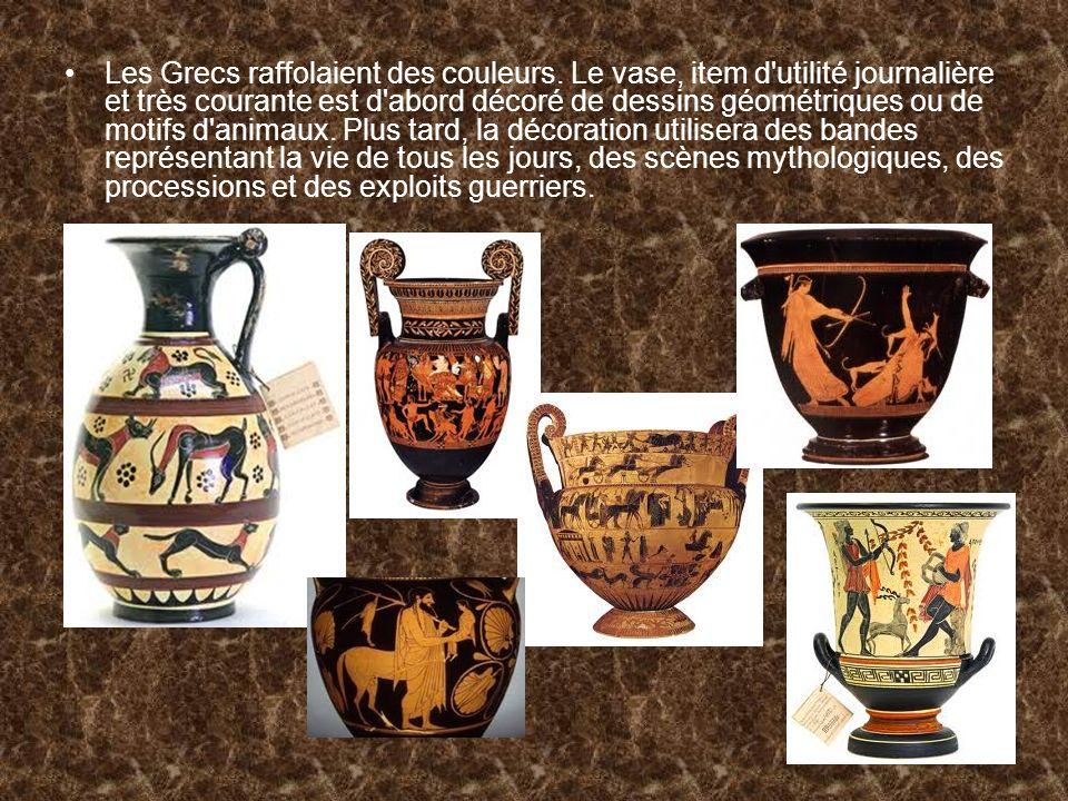 Les Grecs raffolaient des couleurs