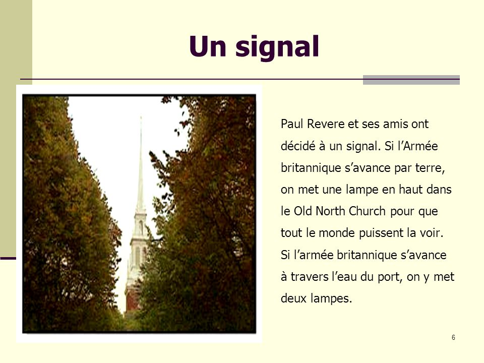 Un signal