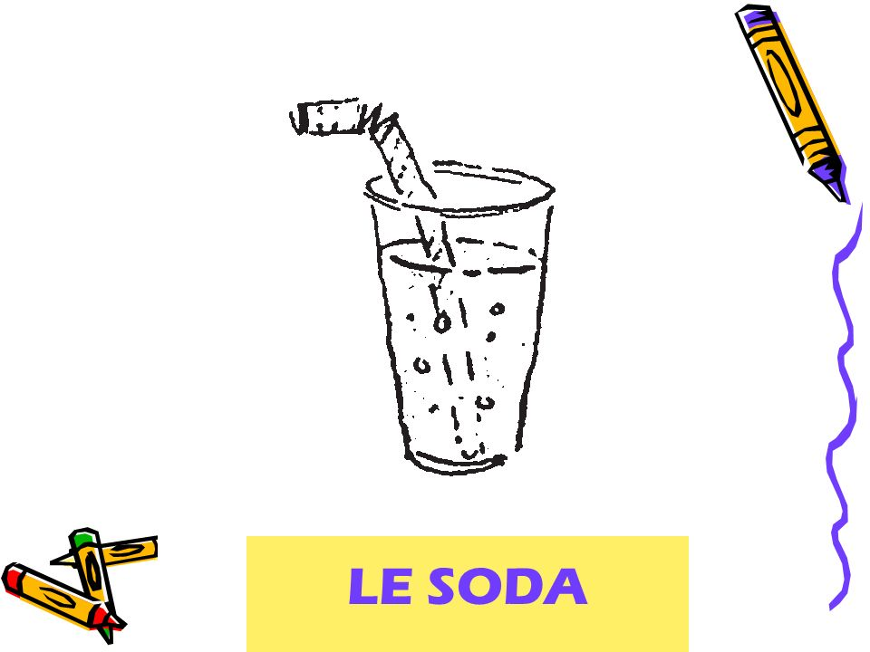 LE SODA soft drink