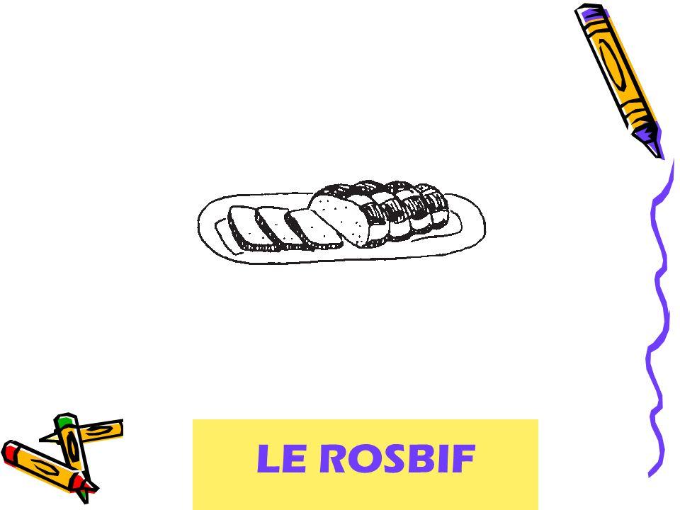 LE ROSBIF roast beef