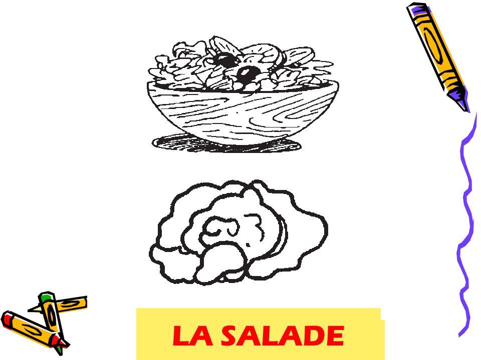 LA SALADE salade, lettuce