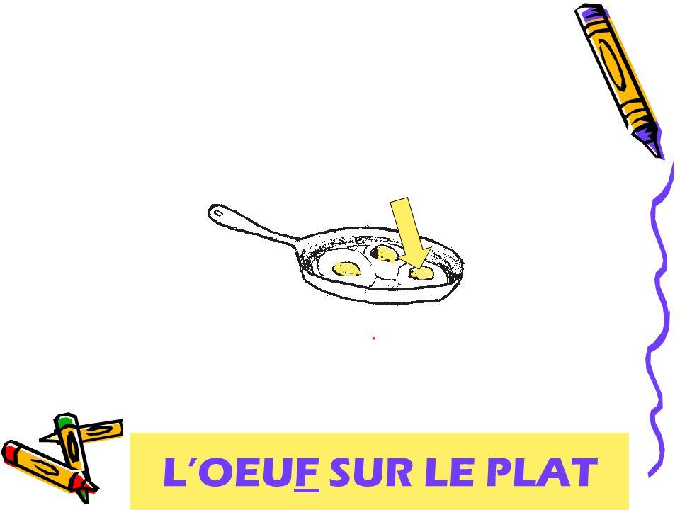 L'OEUF SUR LE PLAT
