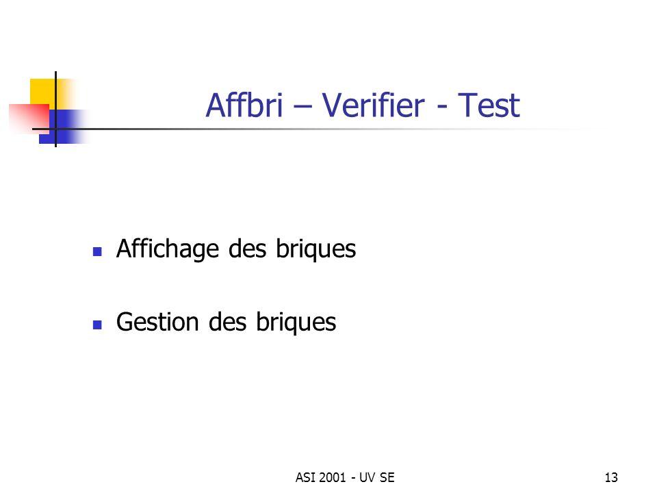 Affbri – Verifier - Test