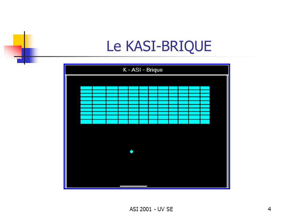 Le KASI-BRIQUE ASI 2001 - UV SE