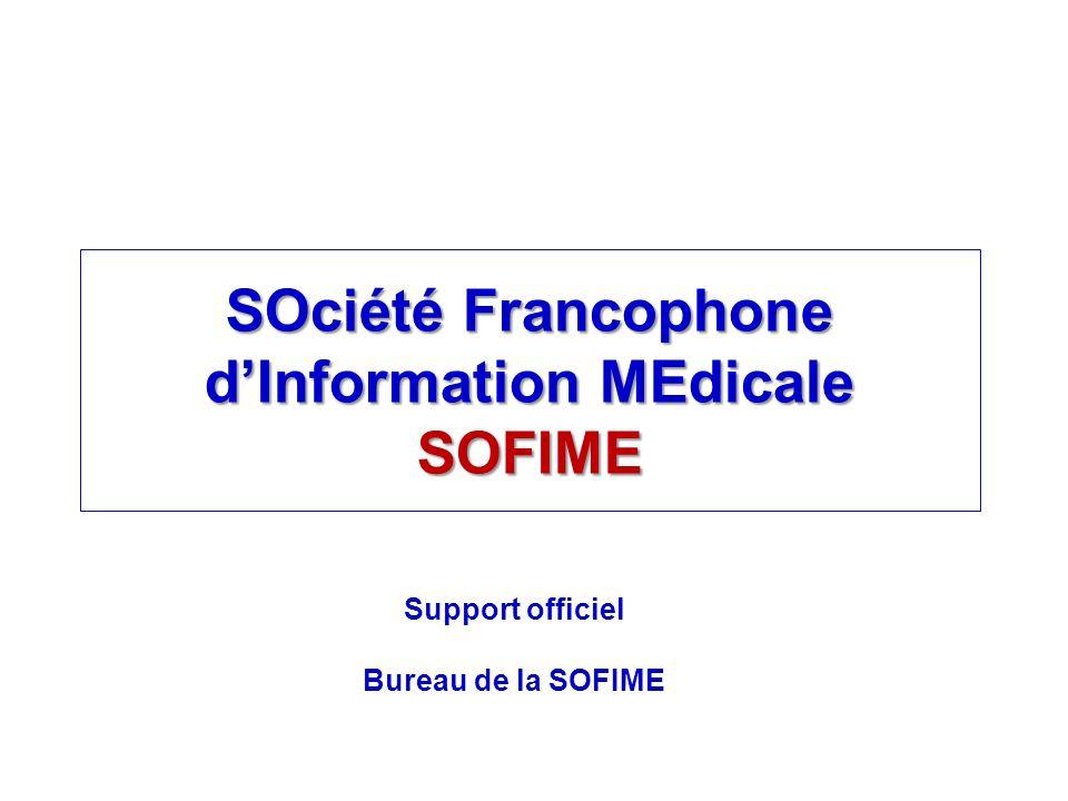 SOciété Francophone d'Information MEdicale SOFIME