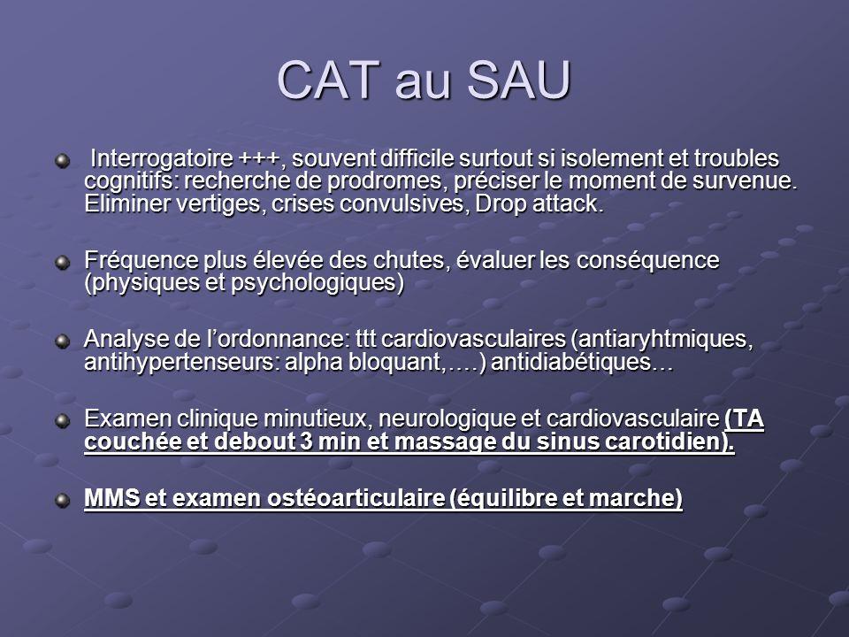 CAT au SAU