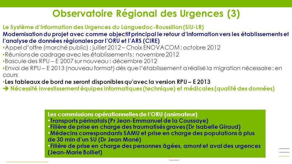 Observatoire Régional des Urgences (3)