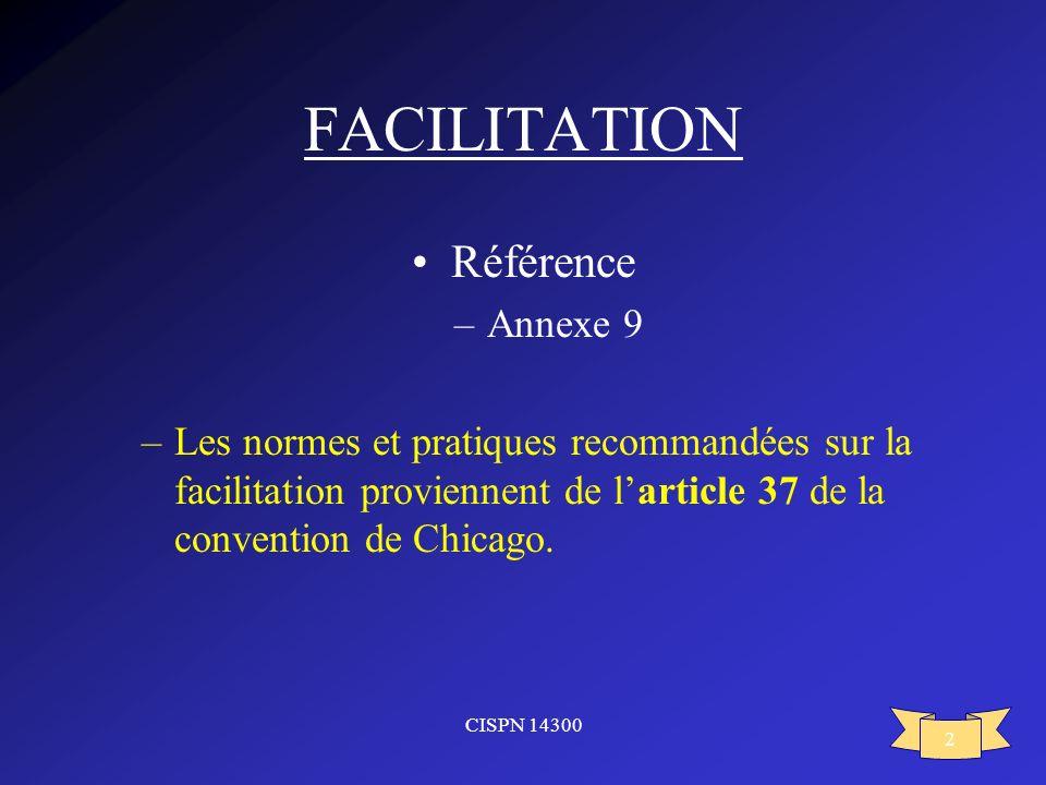 FACILITATION Référence Annexe 9