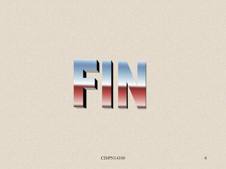 FIN CISPN14300