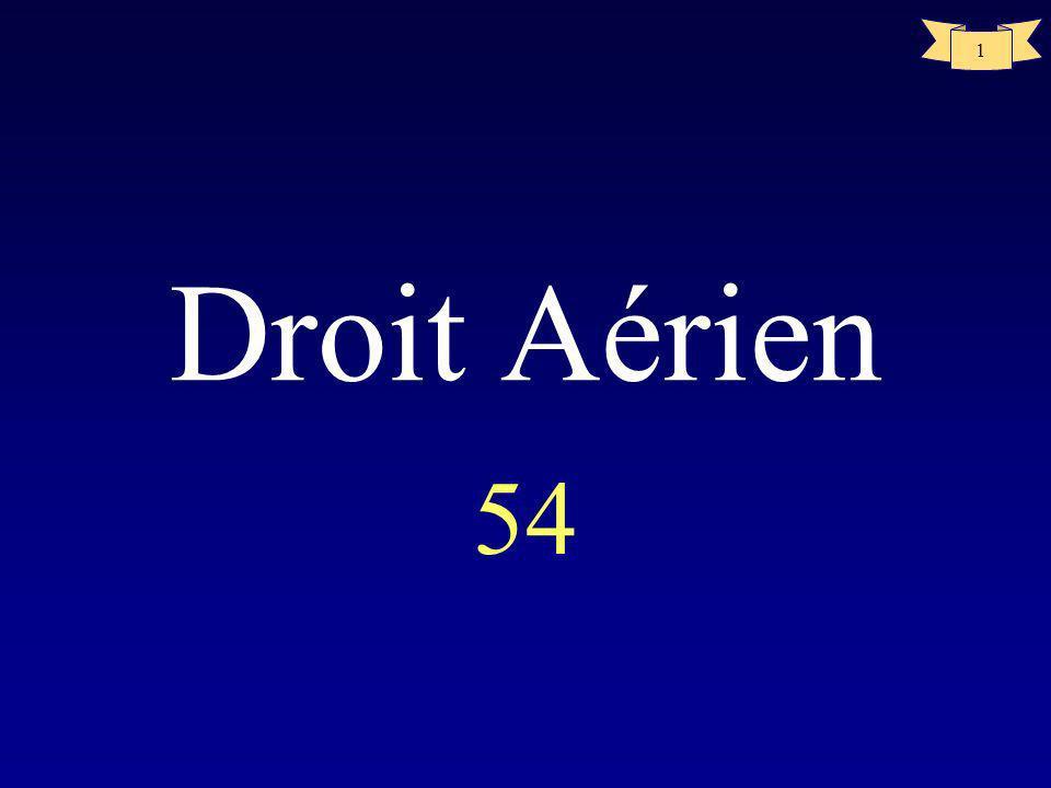 Droit Aérien 54
